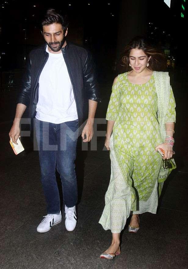 Kartik Aaryan, Sara Ali Khan