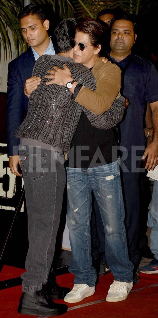 Ayushmann Khurrana, Shah Rukh Khan