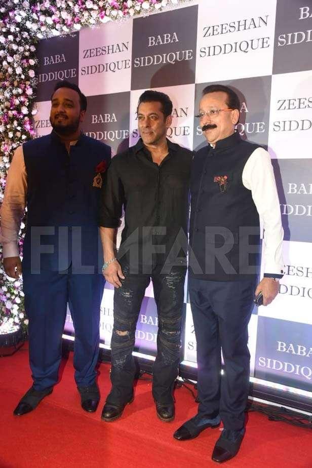 Zeeshan Siddique, Salman Khan, Baba Siddique