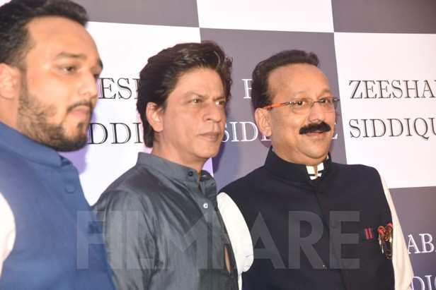 Zeeshan Siddique, Shah Rukh Khan, Baba Siddique