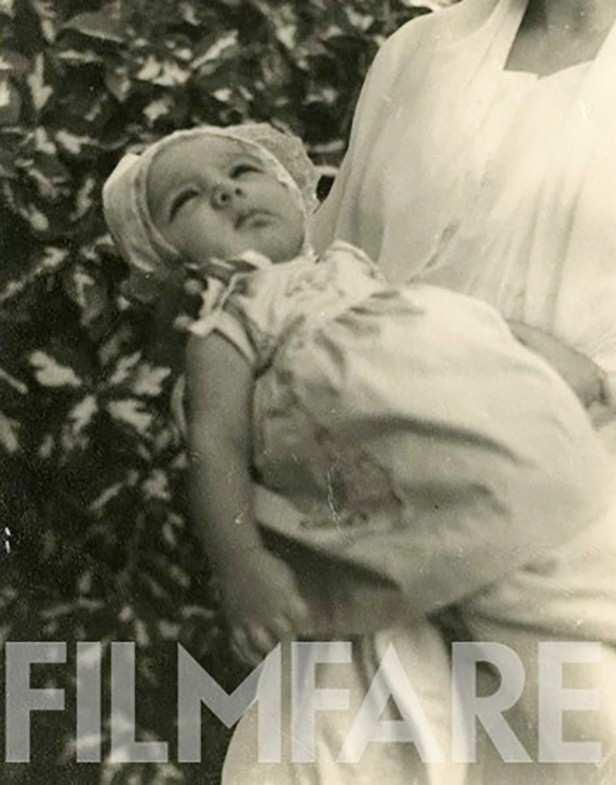 A month old Aamir Khan