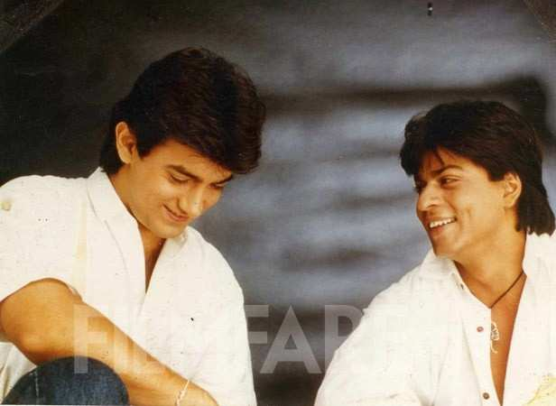 Aamir Khan and Shah Rukh Khan for our cover shoot