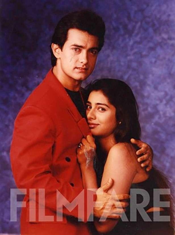 Aamir Khan and Tabu