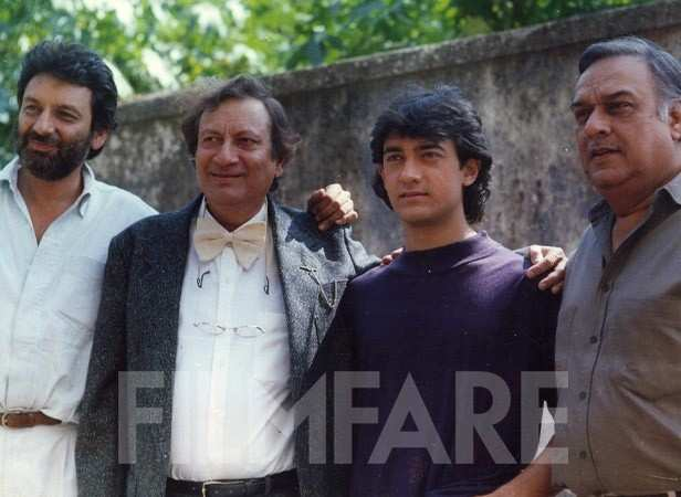 Aamir Khan with Shekhar Kapur and Vijay Anand