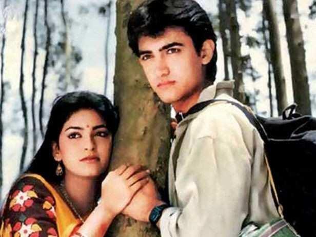Qayamat Se Qayamat Tak Aamir Khan burst on to the scene singing Papa kehte hain and romancing Juhi Chawla in Qayamat Se Qayamat Tak. The film established Aamir as the new chocolate boy of Hindi cinema. It set the precedent for hits like Love Love Love, Di