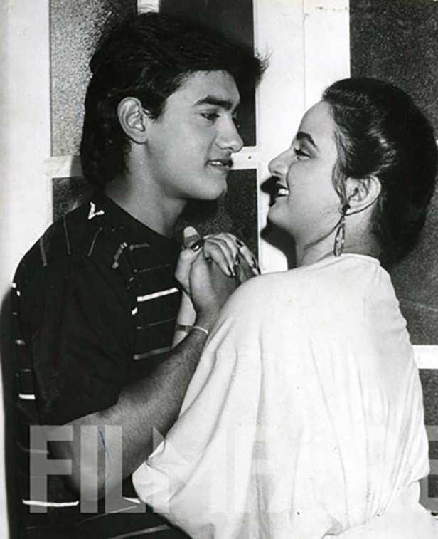 Aamir Khan with Farah