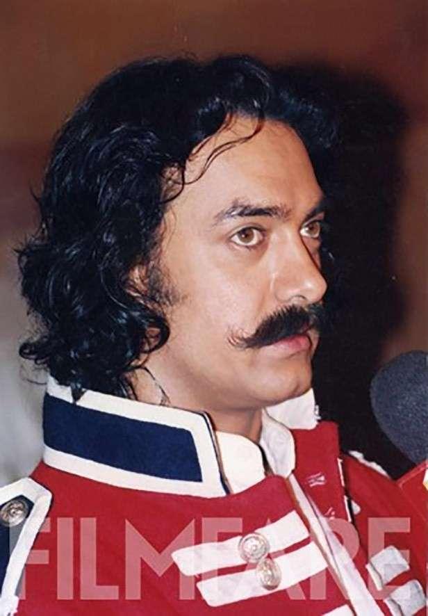 In his Mangal Pandey look