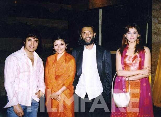 With Soha Ali Khan, Rakeysh Omprakash Mehra and Esha Koppikar