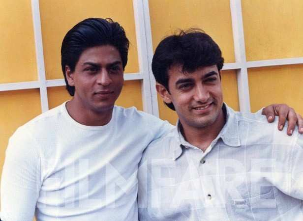 With peer and competitor Shah Rukh Khan.