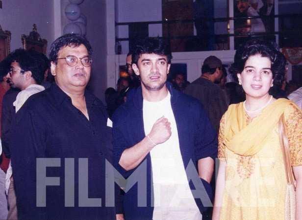 With Subhash Ghai and Reena