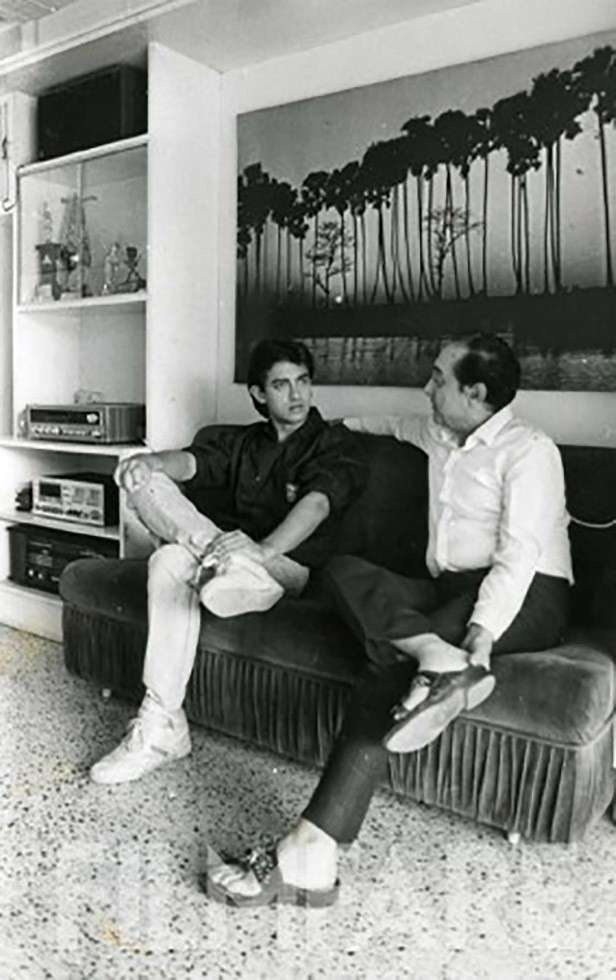 On the couch with Aamir Khan