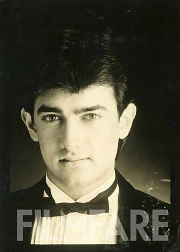 His first cover shoot with Filmfare