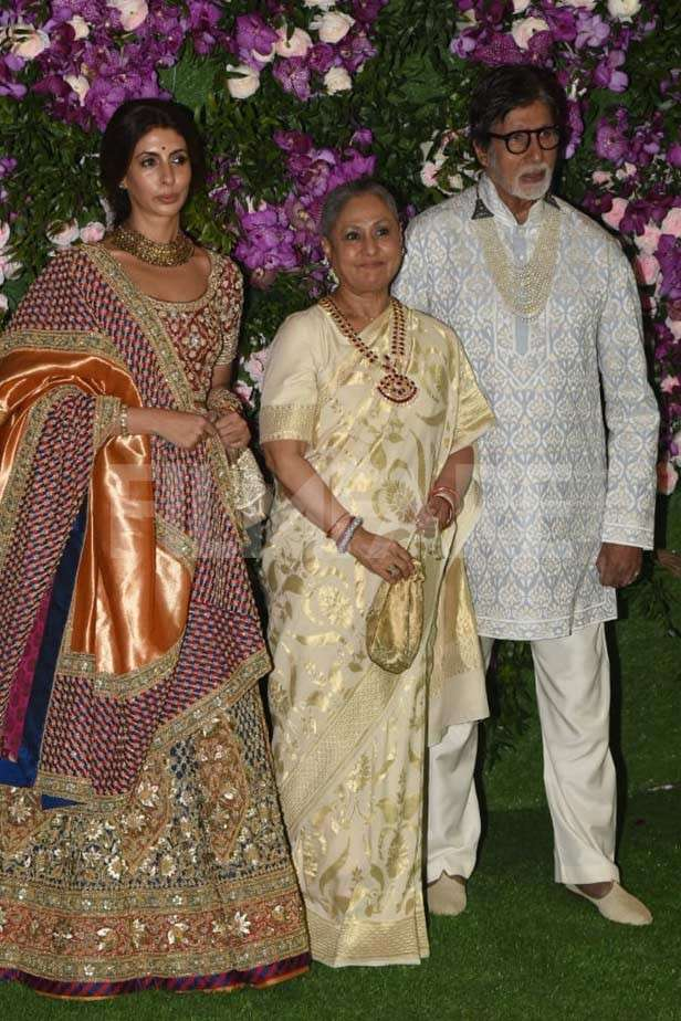 Shweta Bachchan Nanda, Jaya Bachchan, Amitabh Bachchan