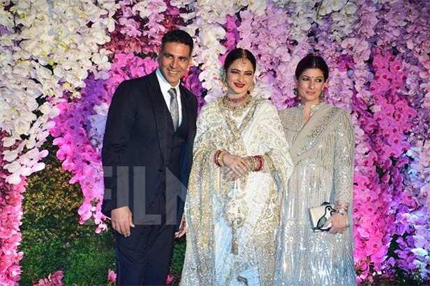 Akshay Kumar, Rekha, Twinkle Khanna