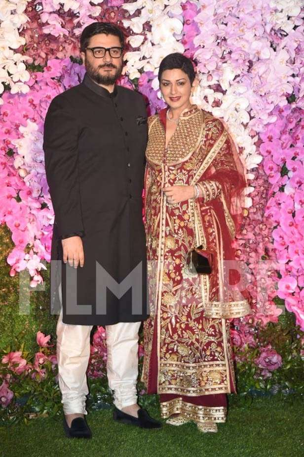 Sonali Bendre, Aishwarya – Abhishek Bachchan and more at the Ambani reception