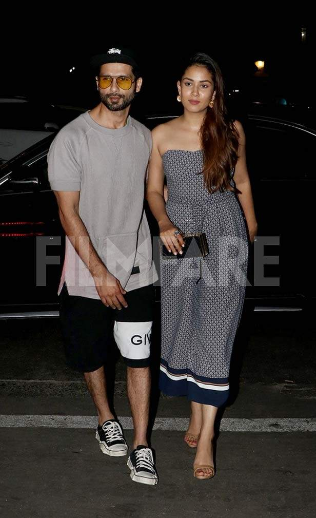 Shahid Kapoor and Mira Kapoor's romantic date night