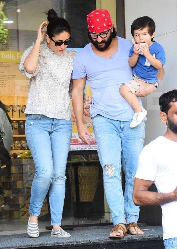 Kareena Kapoor Khan, Saif Ali Khan, Taimur Ali Khan