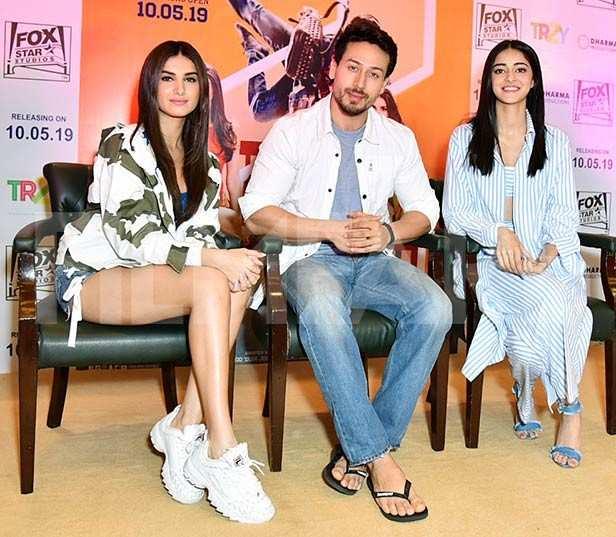 Tara Sutaria, Tiger Shroff, Ananya Panday