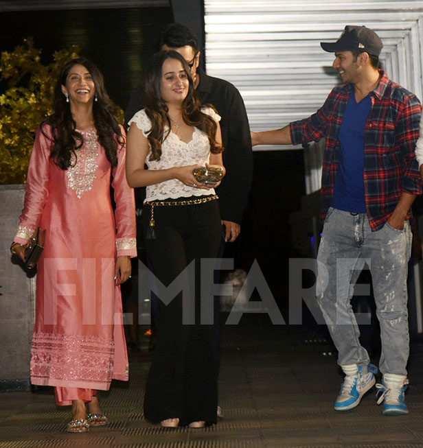 Natasha Dalal, Dinesh Vijan, Varun Dhawan