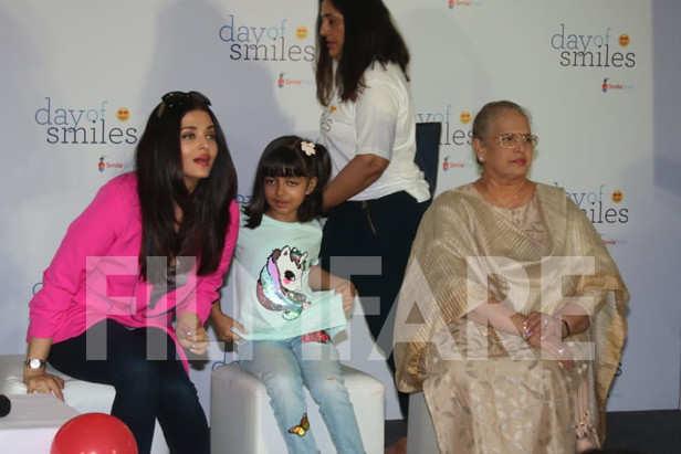Aishwarya Rai Bachchan, Aaradhya Bachchan, Brindya Rai