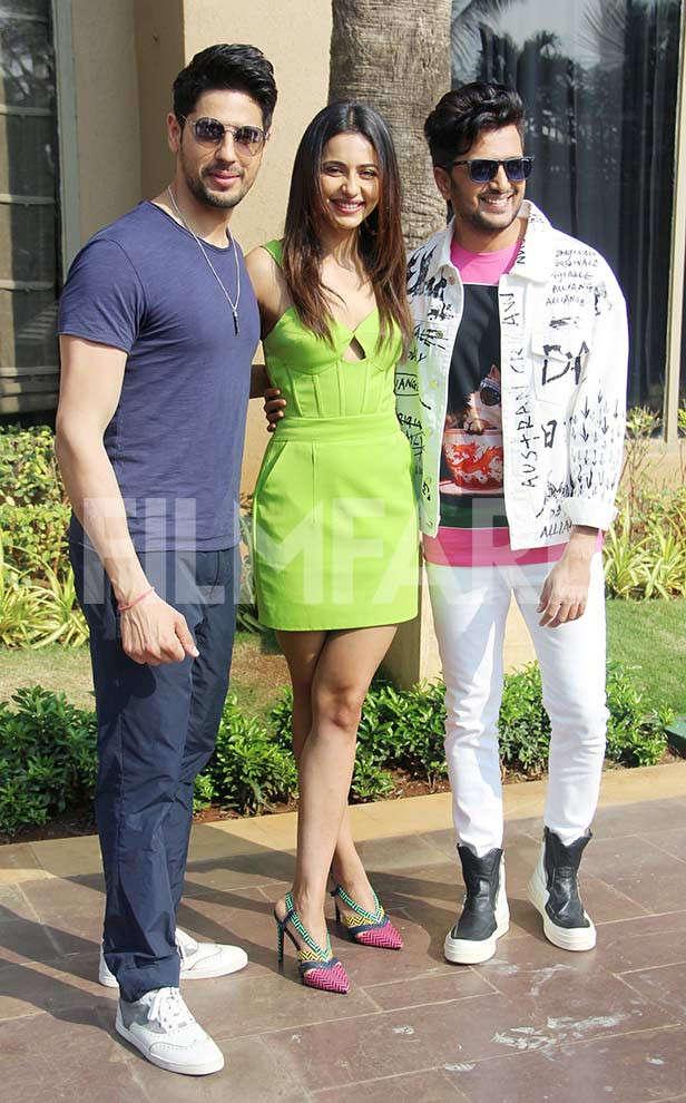 Sidharth Malhotra, Milap Zaveri, Rakul Preet Singh, Riteish Deshmukh