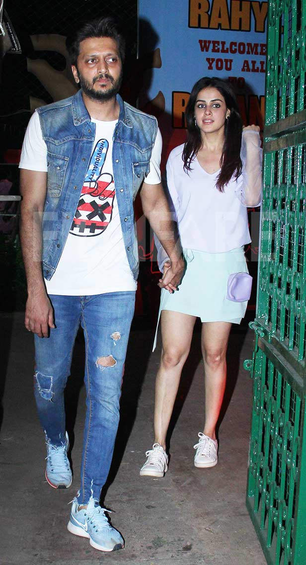 B-town celebs and kids attend the birthday bash of Riteish Deshmukh and Genelia DSouzas son Riaan