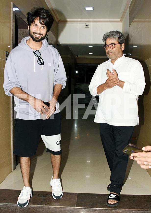Shahid Kapoor, Vishal Bhardwaj