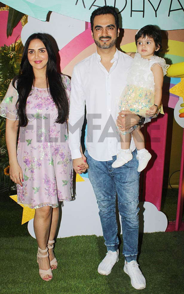 So cute! Esha Deol and Bharat Takhtani celebrate daughter Radhya's second birthday