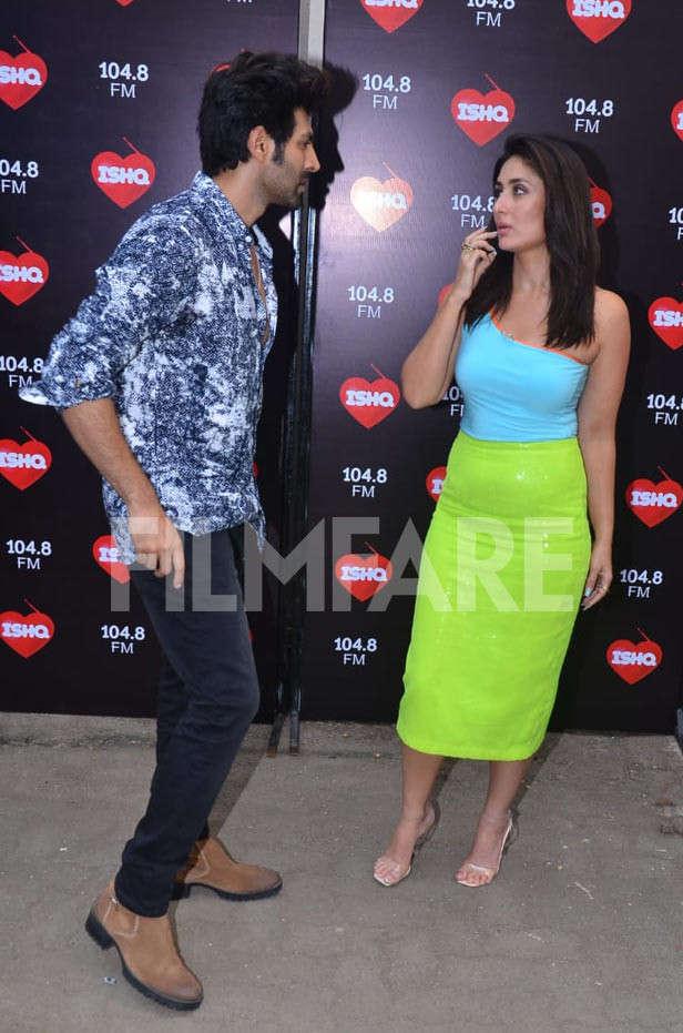 Kartik Aaryan, Kareena Kapoor Khan