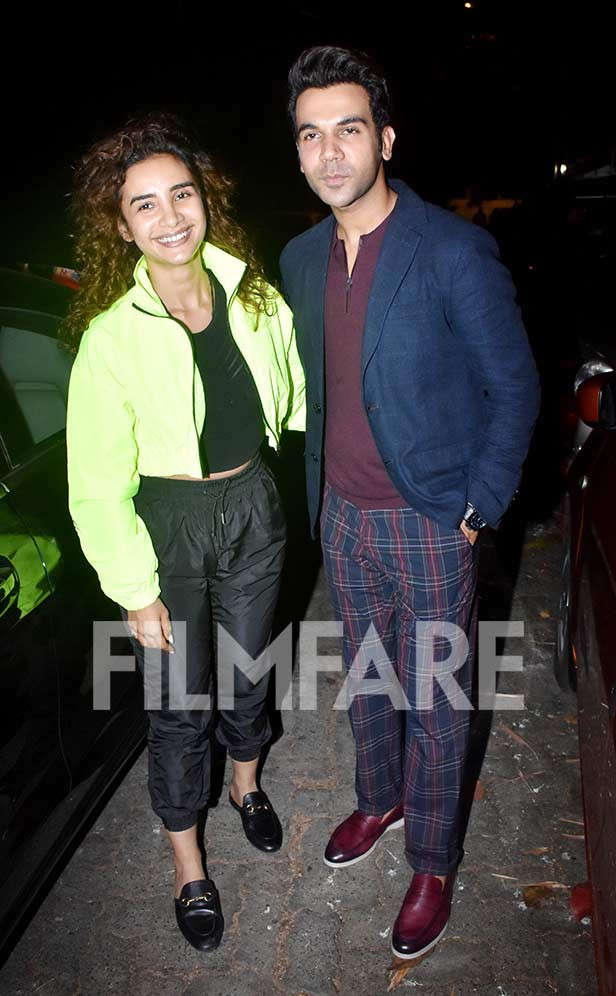 Rajkummar Rao and Patralekha head out for a date night