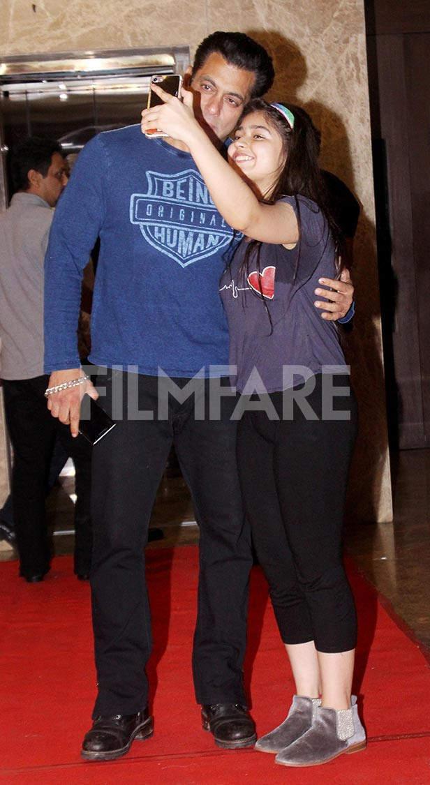 Salman Khan, Ramesh Taurani, Preity Zinta