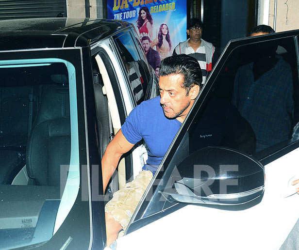 Salman Khan visits Sohail Khan's office to discuss his next project