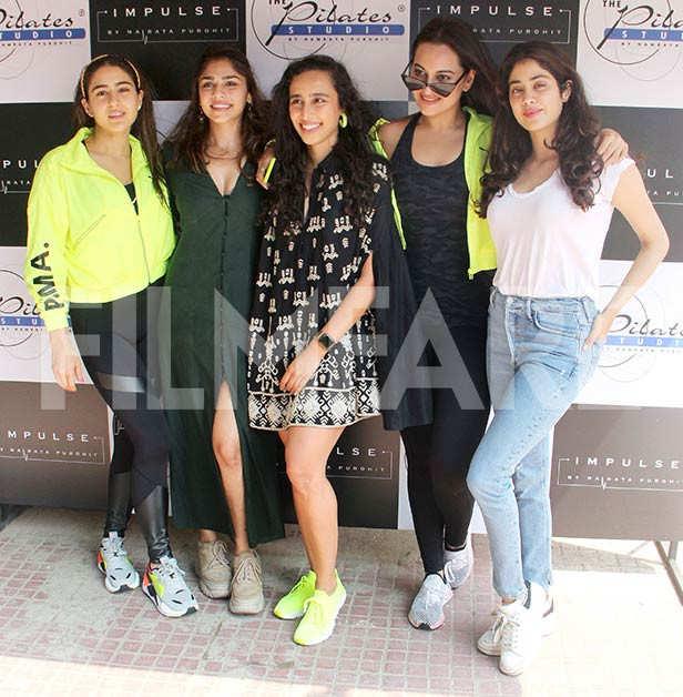 Sara Ali Khan, Sonakshi Sinha, Janhvi Kapoor