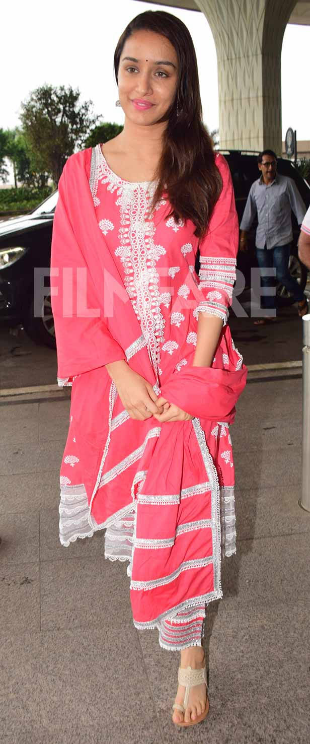 Shraddha Kapoor flaunts her love for ethnic in her latest appearance