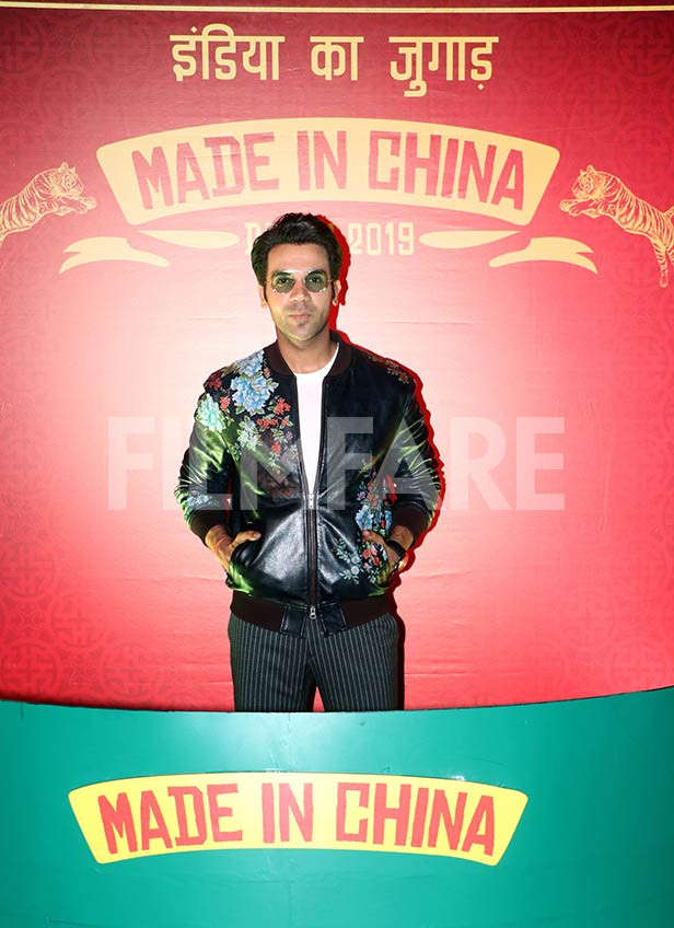 Rajkummar Rao and Mouni Roy unveil the Made In China trailer