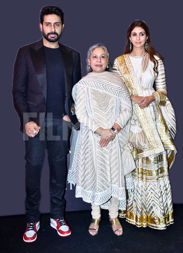 Bollywood bigwigs attend Abu Jani and Sandeep Khosla's fashion show