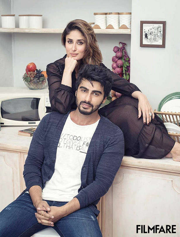 Arjun Kapoor, Kareena Kapoor Khan