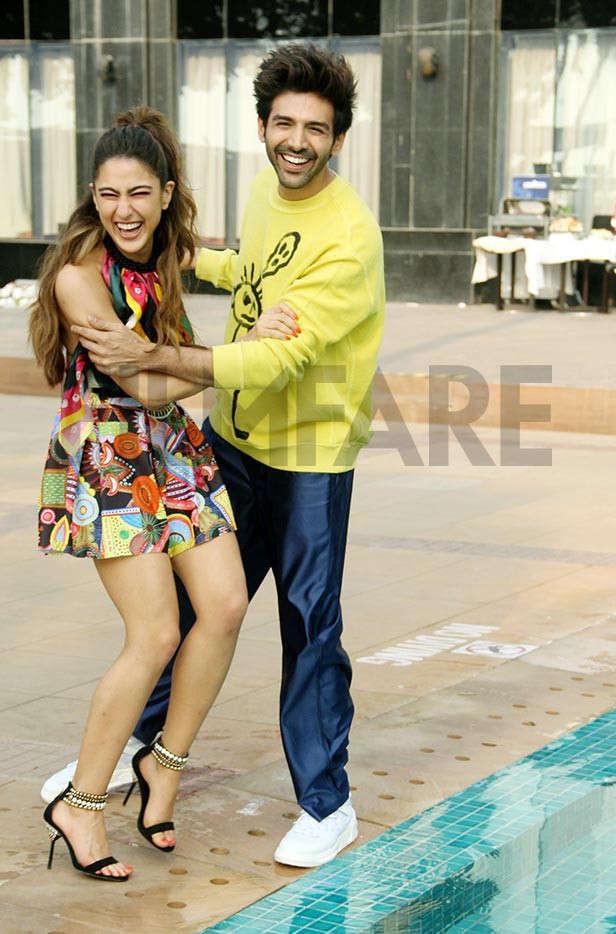 Sara Ali Khan, Kartik Aaryan