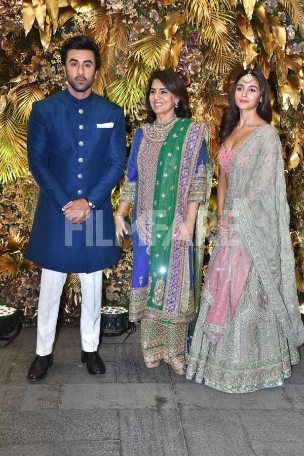 Ranbir Kapoor, Alia Bhatt, Neetu Kapoor