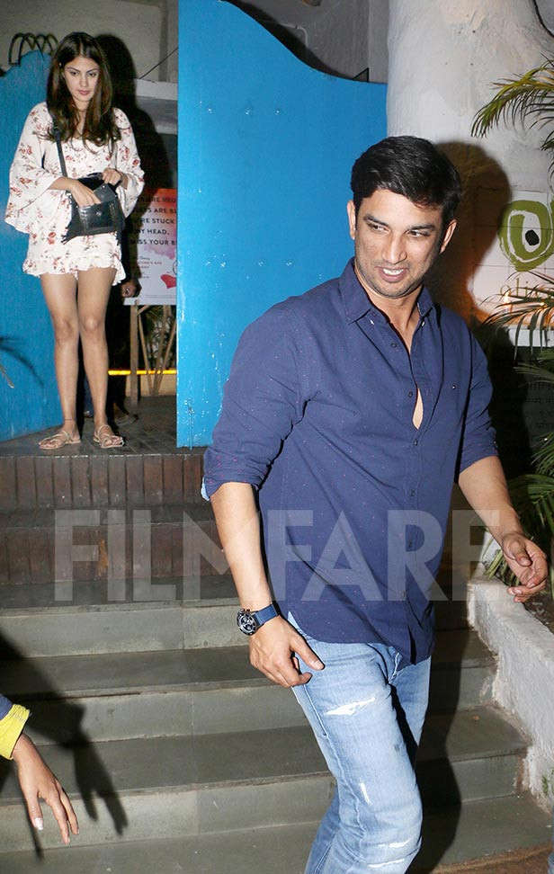 Sushant Singh Rajput and Rhea Chakraborty are the latest couple of b-town who people cannot seem to get enough of