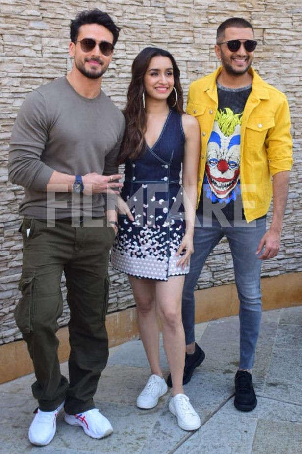 Tiger Shroff, Shraddha Kapoor, Riteish Deshmukh