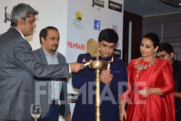 Deepak Lamba, Ravi Desai, Jitesh Pillai, Vidya Balan