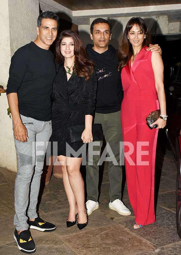Akshay Kumar, Twinkle Khanna, Vikas Oberoi, Gayatri Joshi