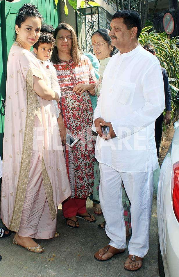 Kangana Ranaut, Amardeep Ranaut