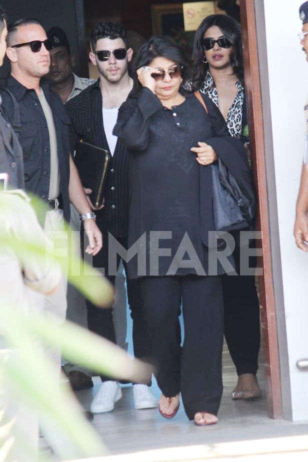Nick Jonas, Madhu Chopra