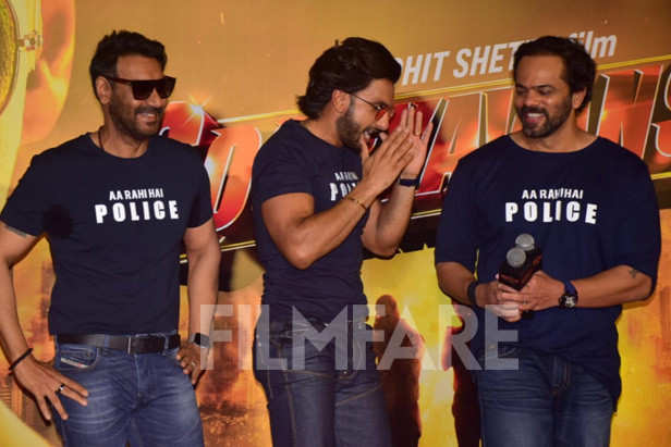 Ranveer Singh, Ajay Devgn, Rohit Shetty