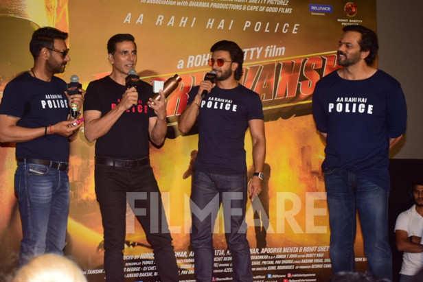 Ajay Devgn, Ranveer Singh, Akshay Kumar, Rohit Shetty