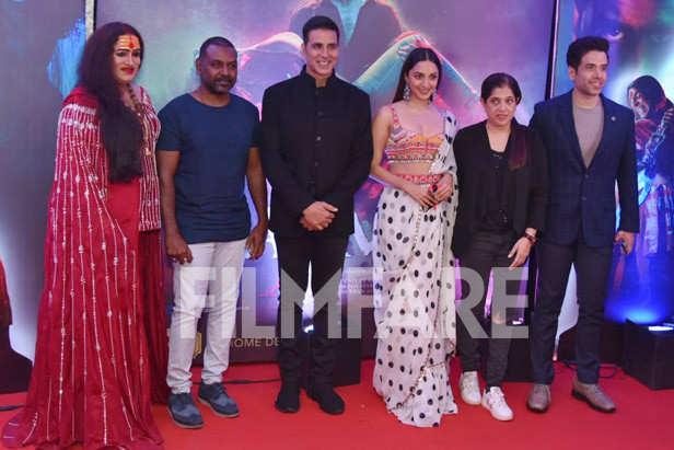 Raghava Lawrence, Akshay Kumar, Kiara Advani, Shabina Khan, Tusshar Kapoor