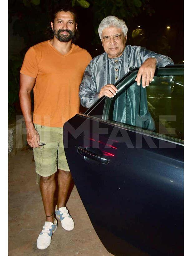 Farhan Akhtar, Javed Akhtar