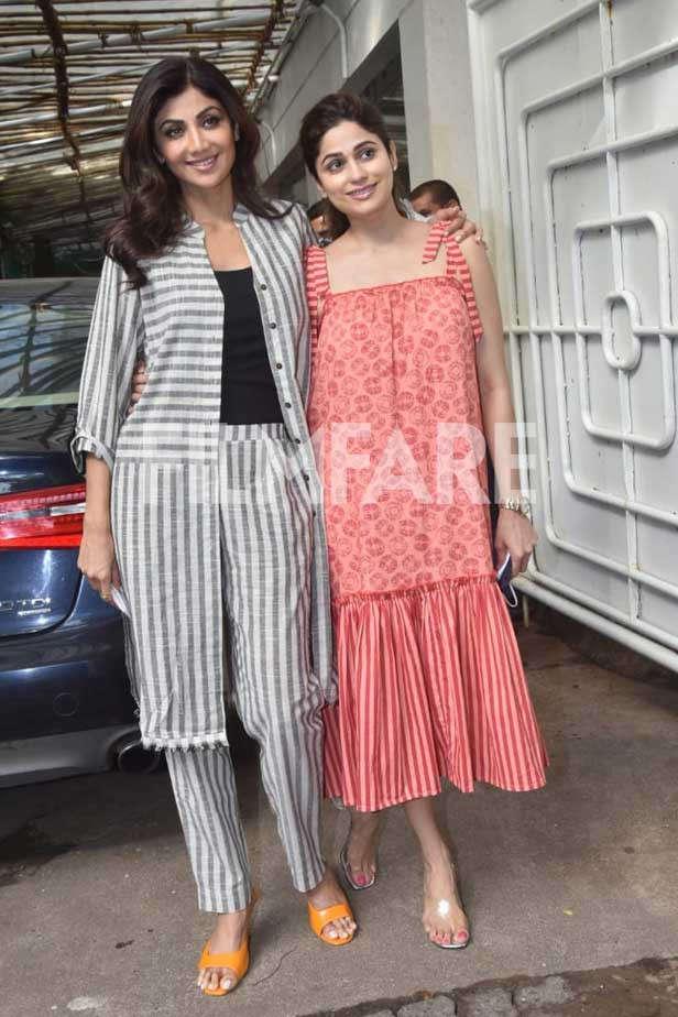 Shilpa Shetty Kundra, Shamita Shetty